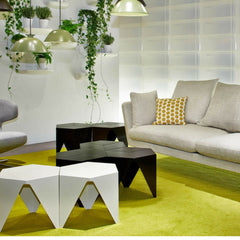 Isamu Noguchi Prismatic Side Tables with Antonio Citterio Suita Sofa from Vitra