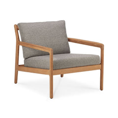 Jack Teak Outdoor Lounge Chair in Mocha by Ethnicraft
