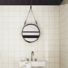 GUBI Adnet Mirror in Bathroom