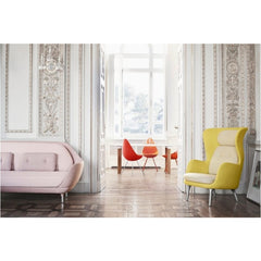 Jaime Hayon Favn Sofa Pink Ro Chair Drop Chair Analog Table Fritz Hansen