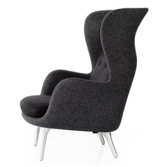Fritz Hansen Ro Chair by Jaime Hayon in Designer Selection Black Profile