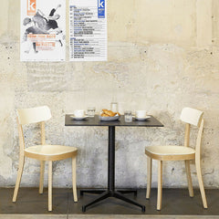 Vitra Basel Chairs by Jasper Morrison in Cafe