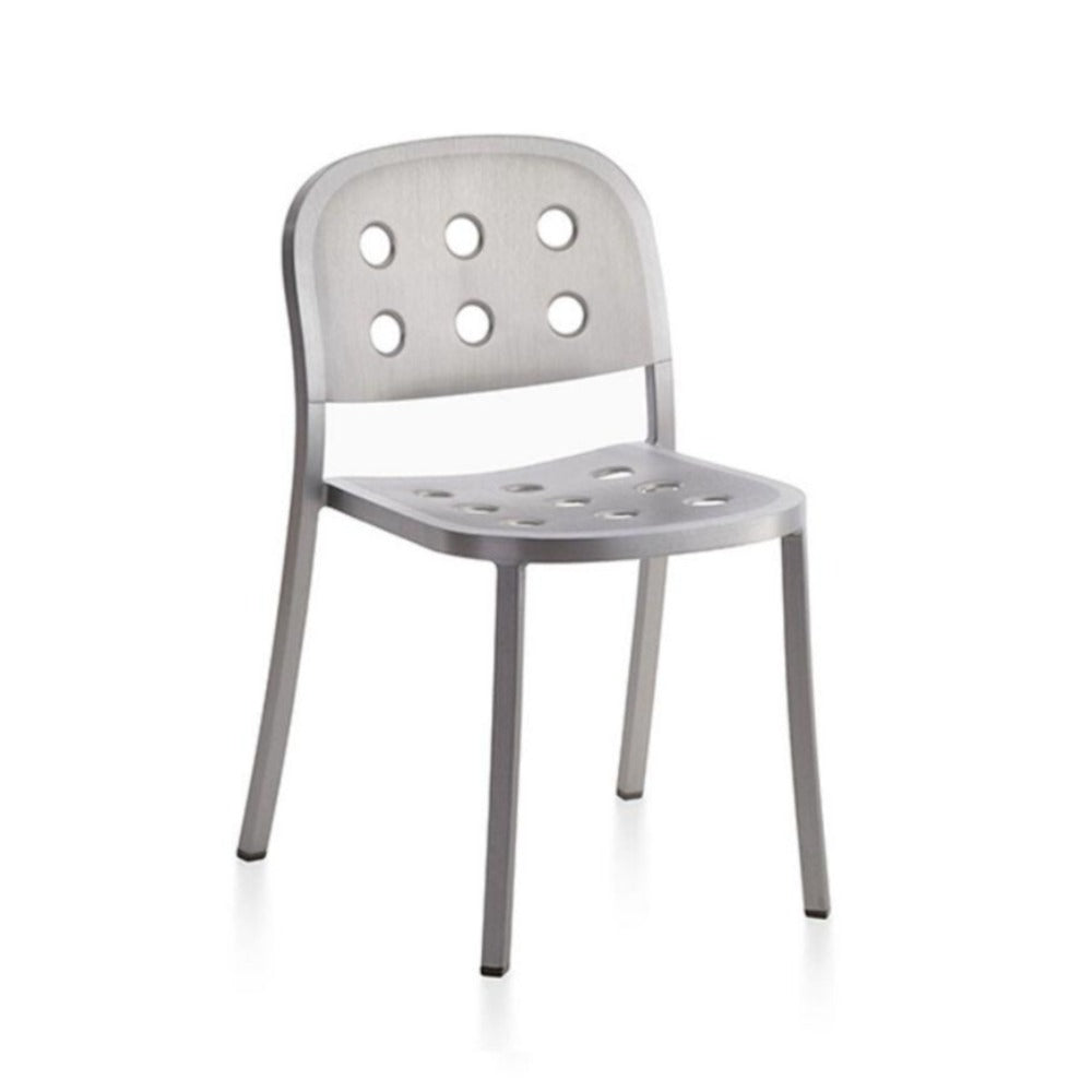 Emeco 1 Inch All Aluminum Chair by Jasper Morrison