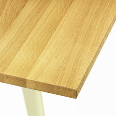 Jean Pouve EM Table Natural Oak Top Closeup Vitra