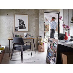 Prouve Desk Compas Direction With Fateuil Chair