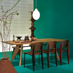 Jean Pouve Standard Chair Dining Setting Vitra