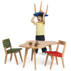 Jens Risom Child's Side Chairs Amoeba Table Playtime Knoll