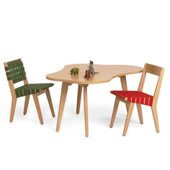 Jens Risom Child's Side Chairs and Table Knoll
