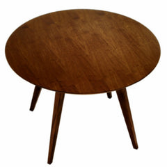 Jens Risom Dining Table Walnut Knoll