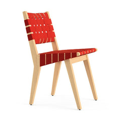 Jens Risom Side Chair Maple Red Profile Knoll
