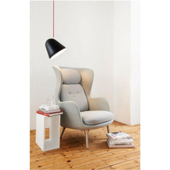 Jjoo Design Tilt Large Pendant with Jaime Hayon Fritz Hansen Ro Chair NYTA Lighting
