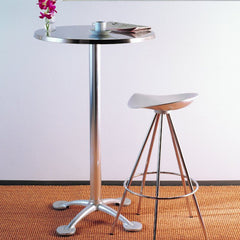 Knoll Jorge Pensi Cafe Table Bar Height with Jamaica Stool
