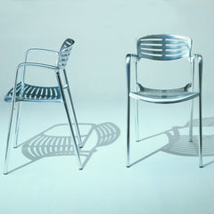 Jorge Pensi Toledo Chair Profile and Front Knoll