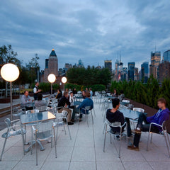 Pensi Toledo Chairs and Table Outdoors NYC Knoll