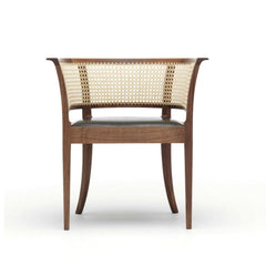 Faaborg Chair in Walnut Front by Kaare Klint for Carl Hansen and Son