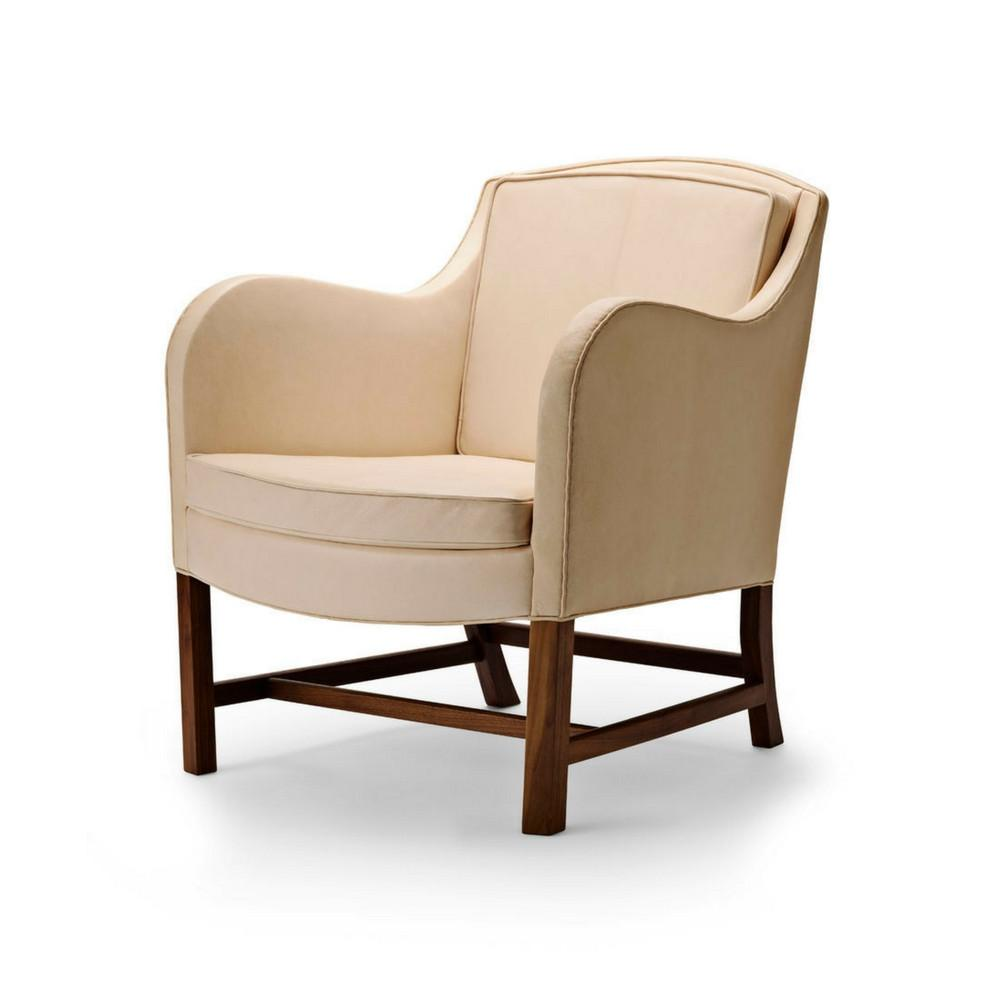 Kaare Klint Mix Chair by Carl Hansen and Son KK43960 Natural Leather