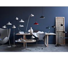 Kaiser Idell Pendants in room with Kaiser Idell Collection