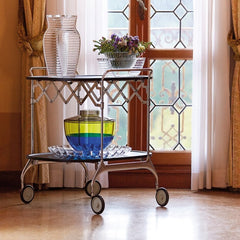 Kartell Trolley by Antonio Citterio and Oliver Low in Bellagio