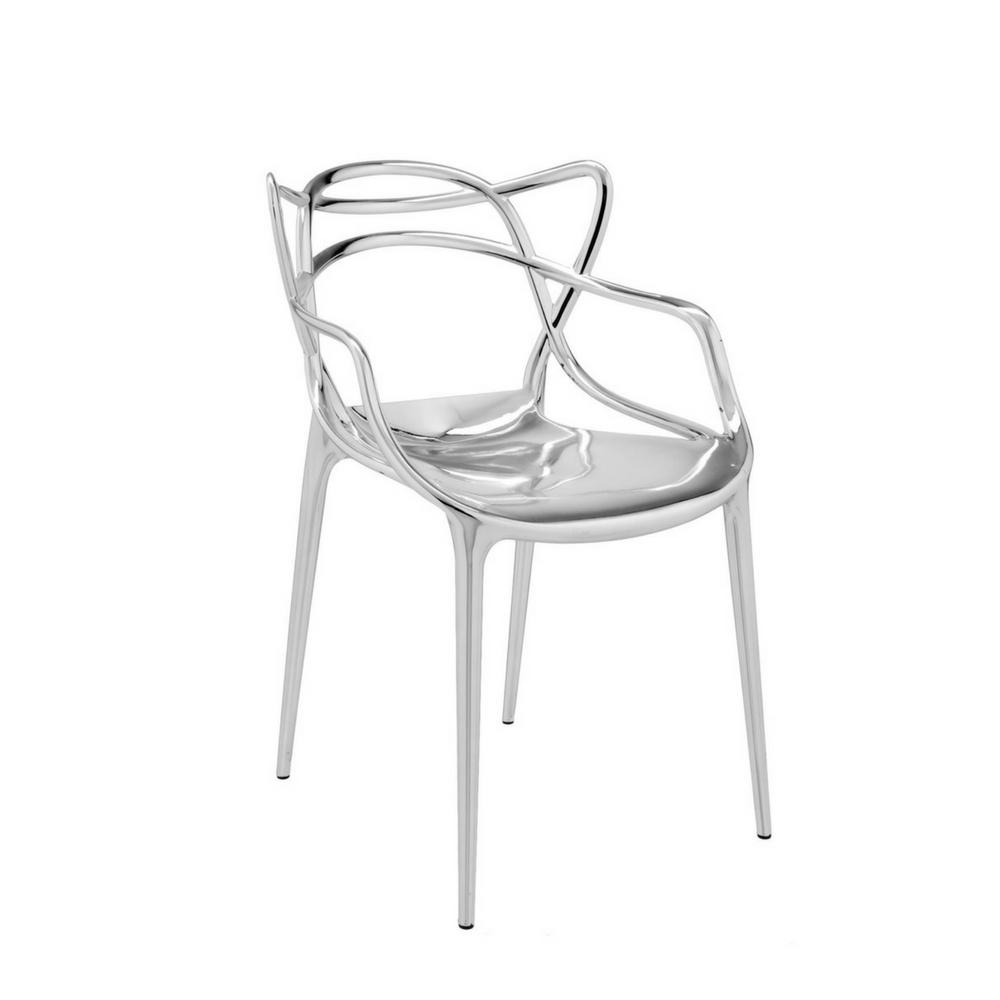 Fra mega Kartell Masters Chair Metallic - Set of 2 | Palette & Parlor AN-94