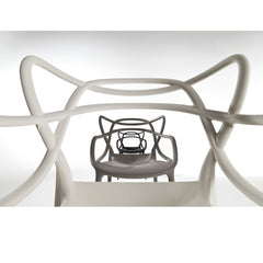 Kartell Masters Chairs by Philippe Starck White Grey Black Field of View