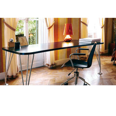 Ferruccio Laviani Max Table in elegant home office Kartell