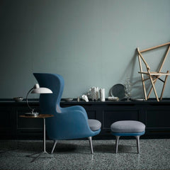 Kasper Salto Little Friend Tables Walnut Veneer With Ro Chair Fritz Hansen