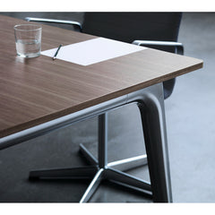 Kasper Salto Pluralis Table with Walnut Veneer Top Detail Fritz Hansen