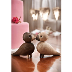Kay Bojesen Lovebirds with Wedding Cake