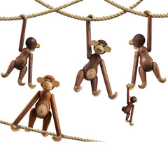 Kay Bojesen monkeys on ropes