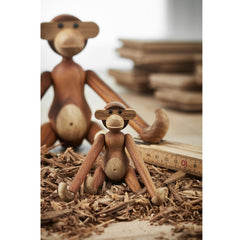 Kay Bojesen Monkeys with wood chips