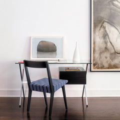 Knoll Albini Desk with Jens Risom Chair