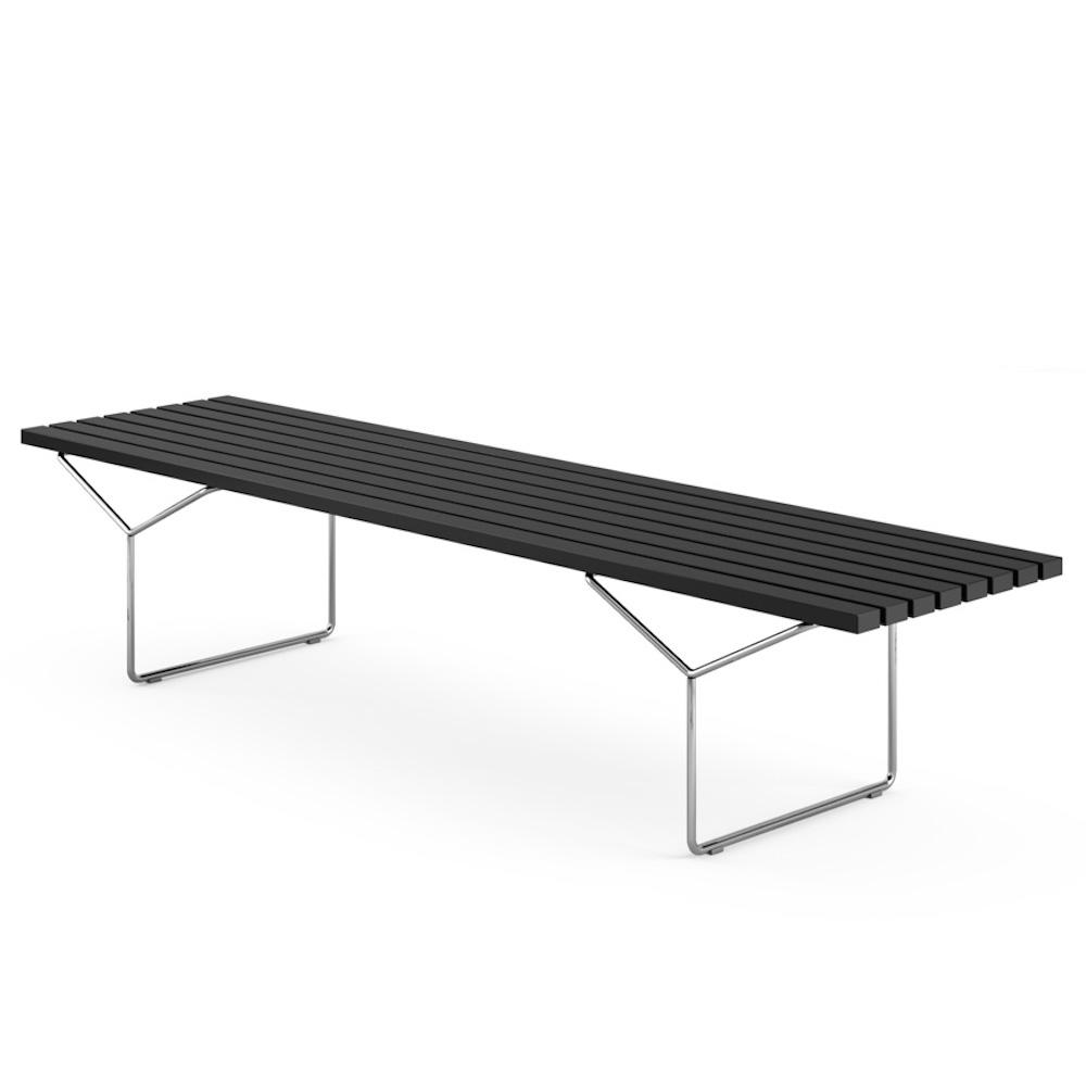 Knoll Bertoia Bench Indoor Black