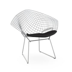 Knoll Bertoia Diamond Chair Delite Onyx