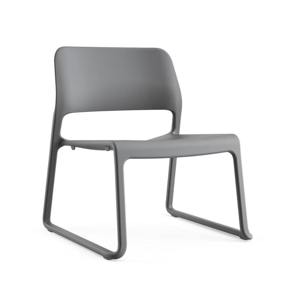 Knoll Chadwick Spark Lounge Chair Dark Grey
