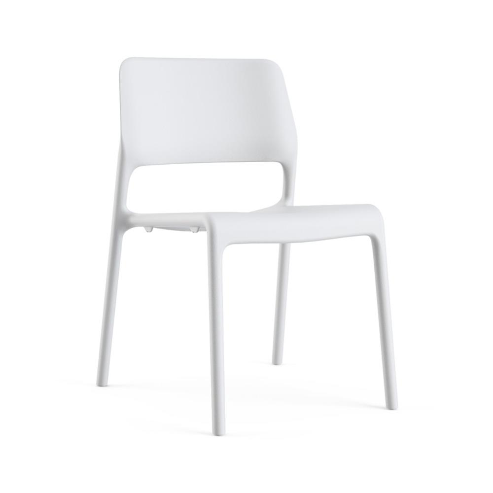 Knoll Chadwick Spark Side Chair White