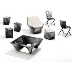 Knoll David Adjaye Washington Collection Black and Grey and White in Room