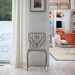 Knoll David Adjaye Washington Skeleton Chair Aluminum Indoors