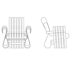 Knoll Gehry Power Play Club Chair Renderings