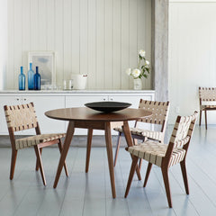 Knoll Jens Risom Dining Table and Chairs in Room