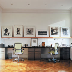 Knoll Life Chairs by Formway Design in Home Office