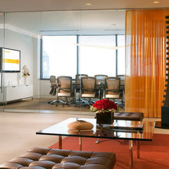 Knoll Life Chairs in Conference Room Barcelona Collection in Reception