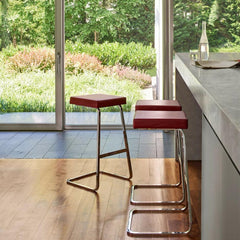 Knoll Four Seasons Barstools by Mies van der Rohe in Home