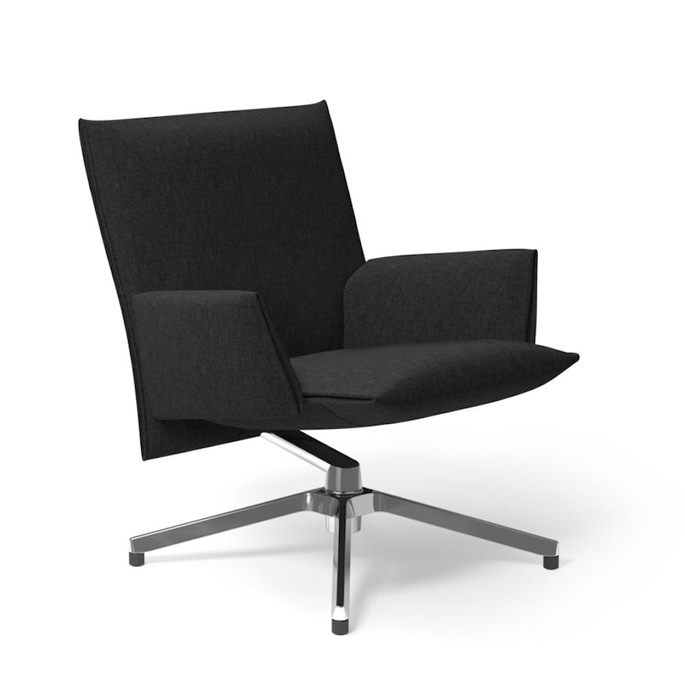 Knoll Pilot Lounge Chair with Arms by Barber Osgerby