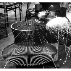 Knoll Platner Coffee Table being made.