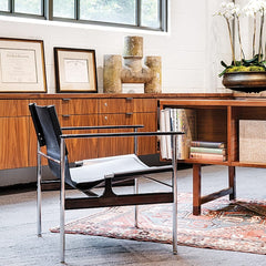Knoll Pollock Arm Chair in Home Office