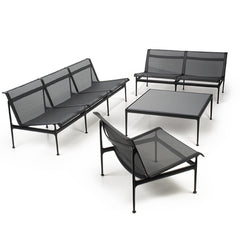 Knoll Richard Schultz Swell Lounge Collection All Black