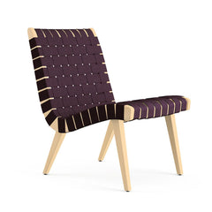 Aubergine Cotton-Clear Maple