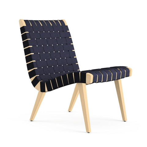 Knoll Risom Lounge Chair - Armless