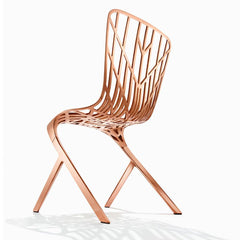 Knoll David Adjaye Washington Skeleton Chair in Copper Detail