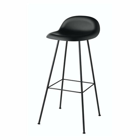 Gubi 3D Bar and Counter Stool - Hi-Rek Seat